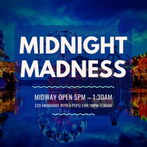 Midnight Madness - fair at dark