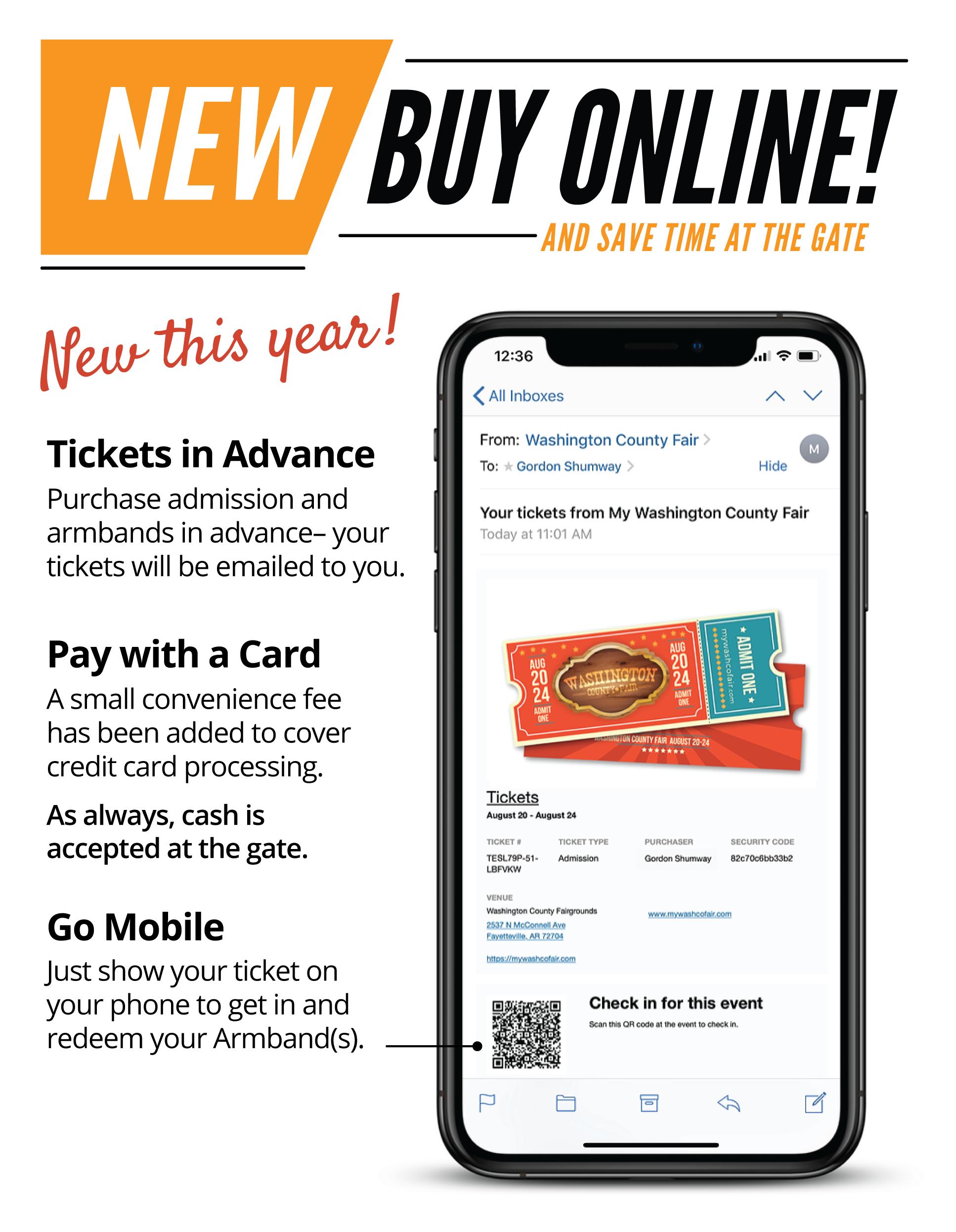 tickets information
