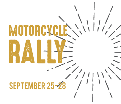 motorcycle rally camping