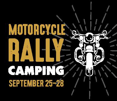 motorcycle rally camping